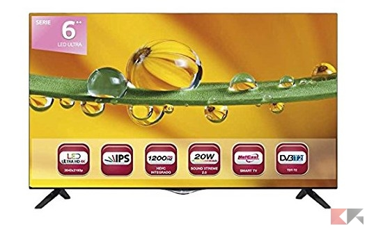 LG 40UF695V 40_ 4K Ultra HD Smart TV Wi-Fi Nero_ Amazon.it_ Elettronica