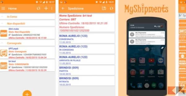 My Shipments - App Android su Google Play