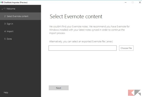 OneNote Importer (Preview)