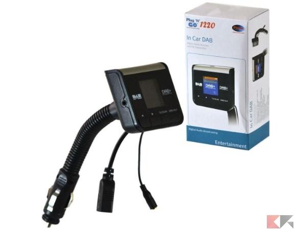 PAMA PNG1220 PAMA Plug N 820 Dab Radio_ Amazon.it_ Auto e Moto