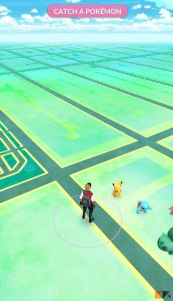 Pikachu - Pokémon Go