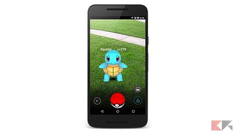 Pokémon Go - squirtle
