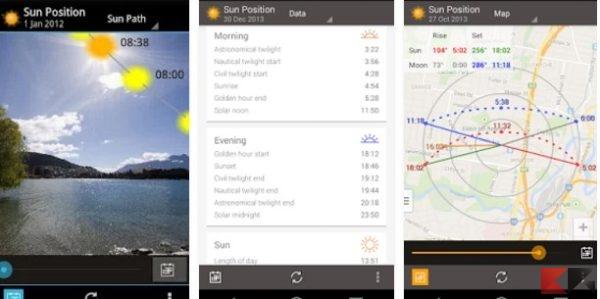 Posizione del sole e Demo Alba - App Android su Google Play