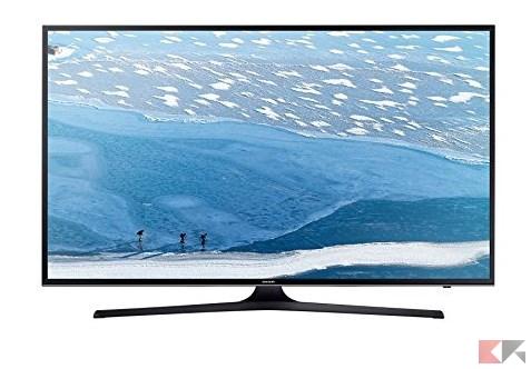 Samsung UE50KU6000K 50_ 4K Ultra HD Smart TV Wi-Fi Nero_ Amazon.it_ Elettronica