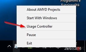 Usage controller