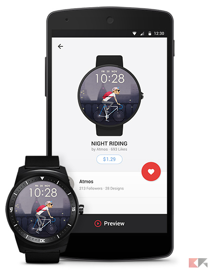 ce3a85b457 Le migliori app per smartwatch Android Wear - ChimeraRevo