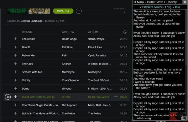 lyrics-here-spotify
