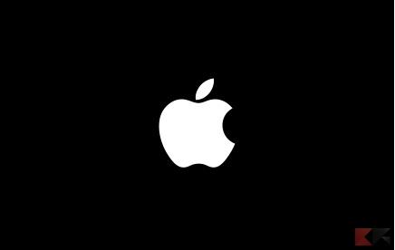 mac apple logo screen icon