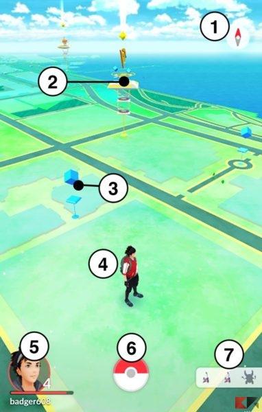 mappa pokémon