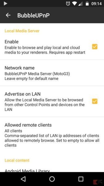bubbleupnp server