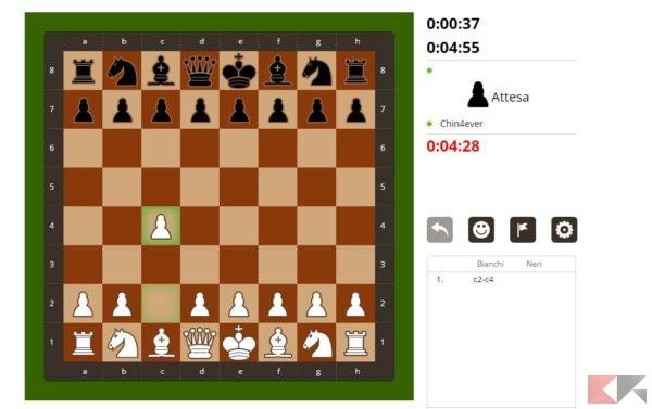 prova scacchi