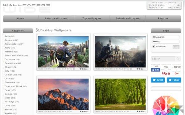 wallpapers wide - Sfondi HD