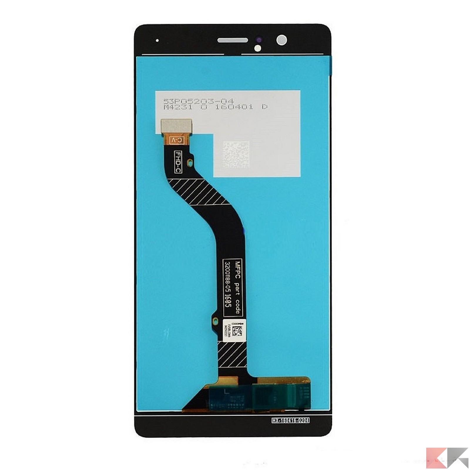 276e883e658 Quindi prendere lo schermo nuovo e togliere la pellicola dall'adesivo; fare  passare la spinetta dell'LCD dall'apposito foro, allineare correttamente lo  ...