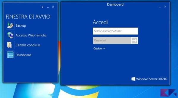 Accesso Dashboard