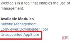 App store non ufficiale