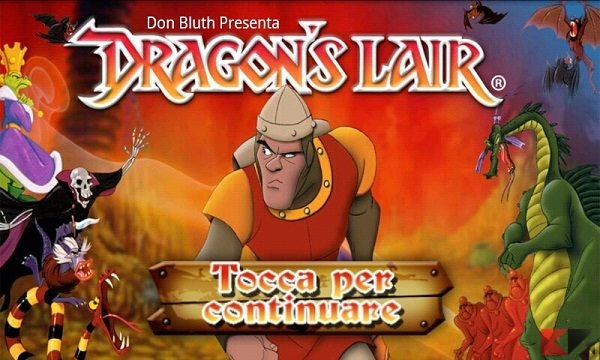 Dragon's-Lair-giochi PC Android