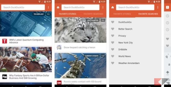DuckDuckGo Search & Stories - App Android su Google Play