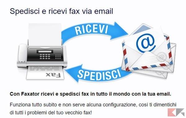 Faxator.com • Il tuo Fax Virtuale via Internet • Benvenuto
