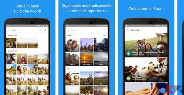 Google Foto App Android su Google Play