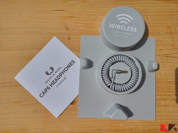 caps wireless cuffie bluetooth Fresh 'N Rebel