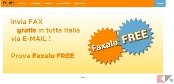 Inviare Fax gratis via web senza linea telefonica _ Faxalo.it