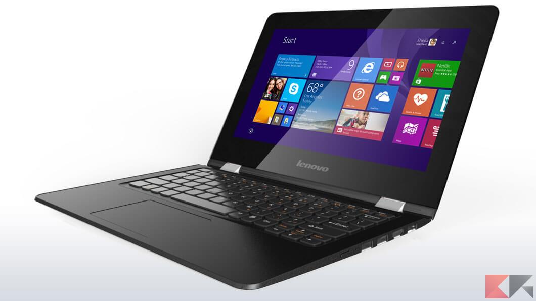 Lenovo Yoga 300: il convertibile economico (codice sconto 10%)