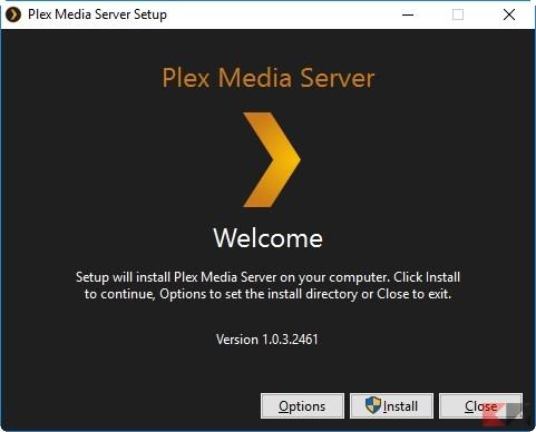 Plex Media Server Setup