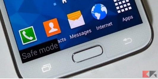 modalità provvisoria sui Samsung Galaxy
