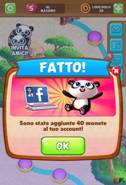Screen panda pop