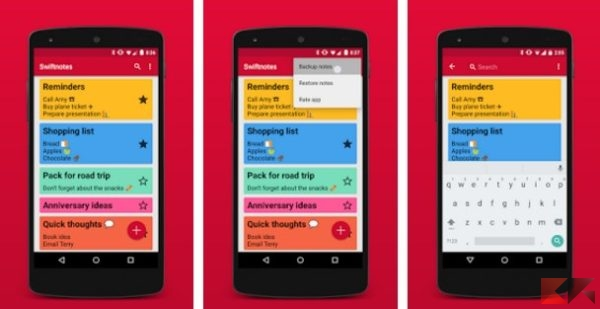 Swiftnotes - simplified notes - App Android su Google Play