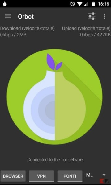 TOR su Android - Orbot