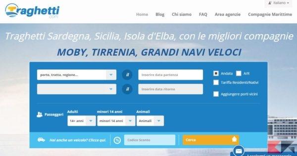 Traghetti Sardegna, Sicilia, Corsica, Elba, Offerte Low cost !