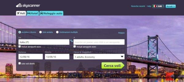 Voli low cost - Cerca Voli Gratis con Skyscanner