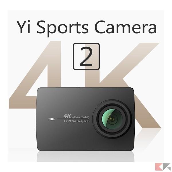 Xiaomi yi 4k sports camera acquistarla in italia for Microfono esterno yi 4k