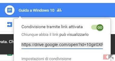 condivisione-link
