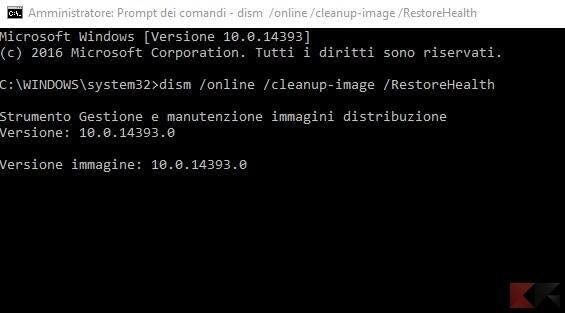 Riparare Windows 10