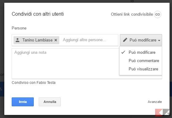 google-drive-condivisione