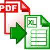pdf excel risultato