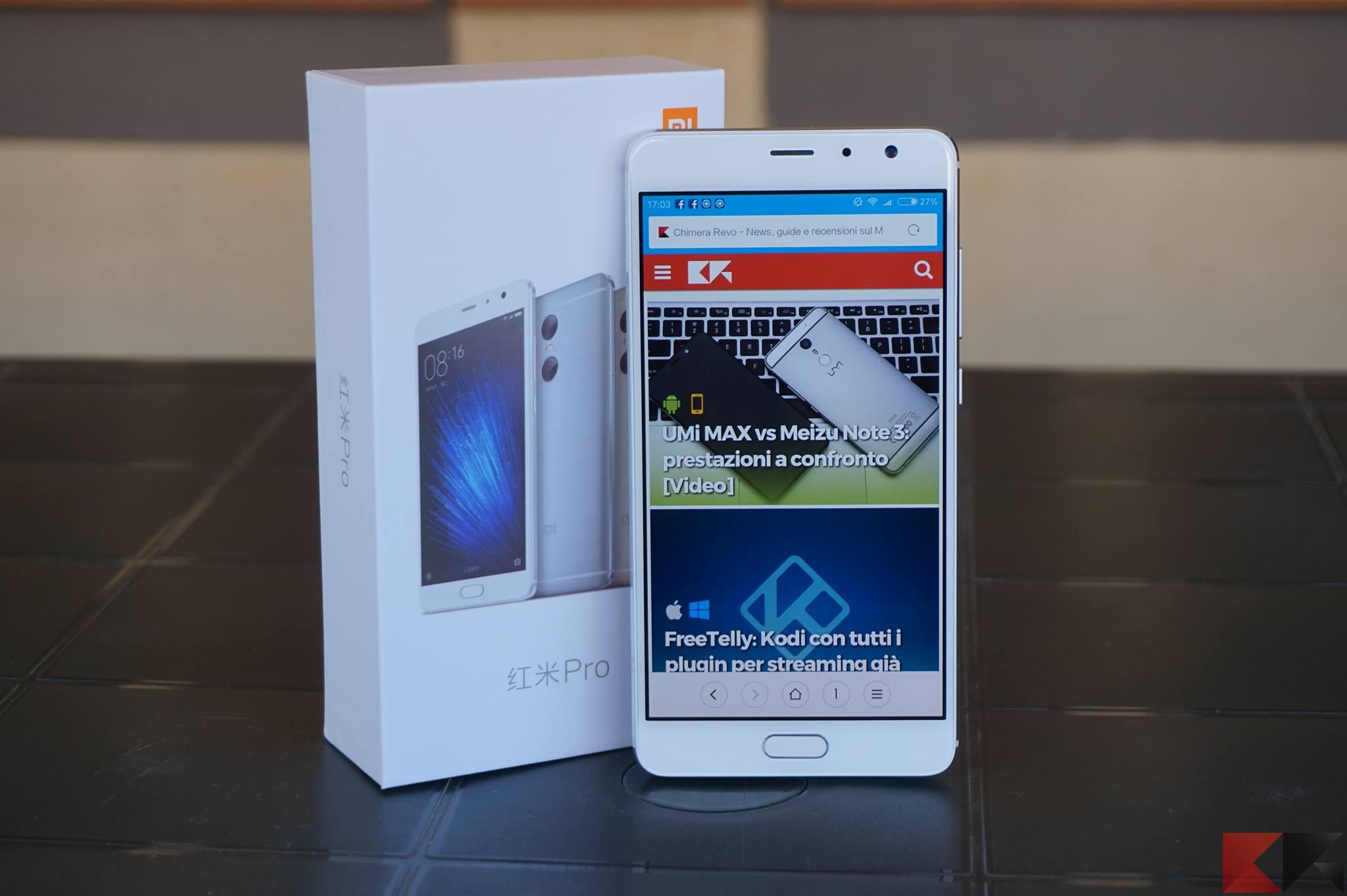 Recensione Xiaomi Redmi Pro: tante novità!
