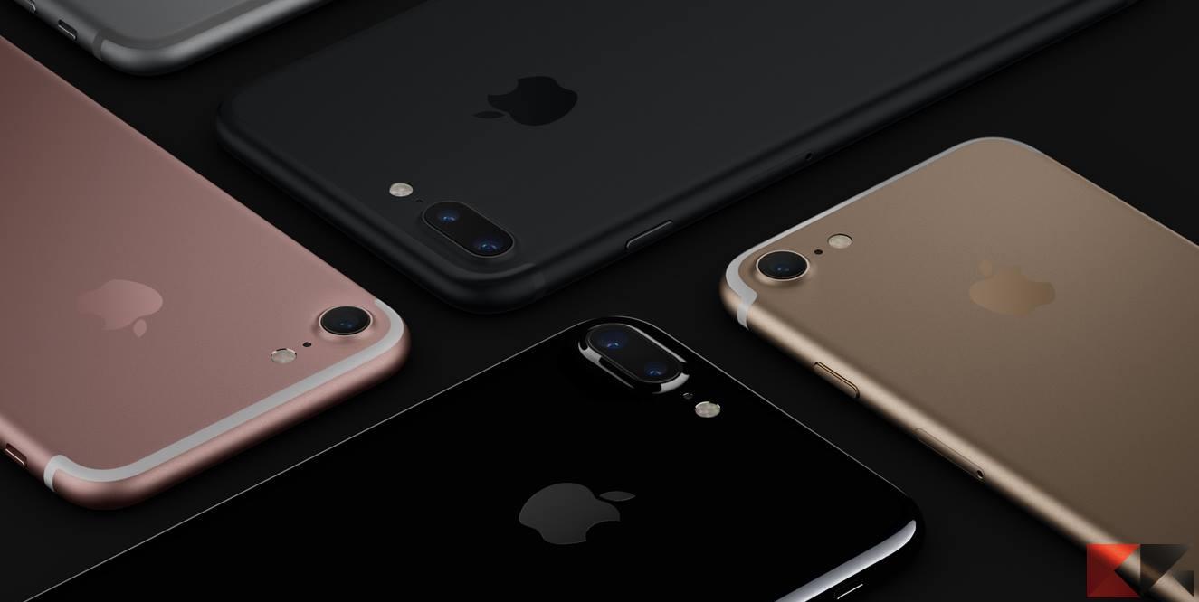 Apple presenta iPhone 7 e 7 Plus: caratteristiche e novità!