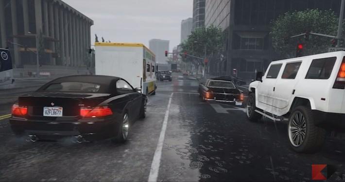 """Le auto a guida autonoma si """"allenano"""" in GTA V"""