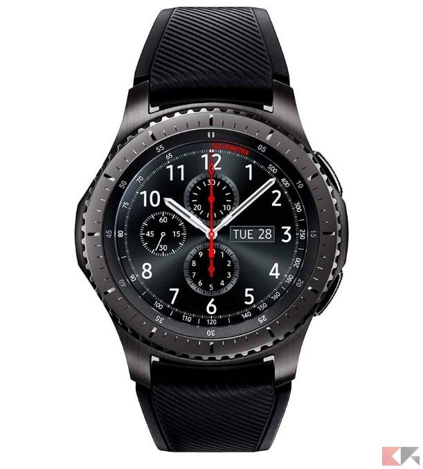 2016 12 05 11 40 57 Samsung Gear S3 Frontier Smartwatch 4 GB Grigio Amazon.it Elettronica