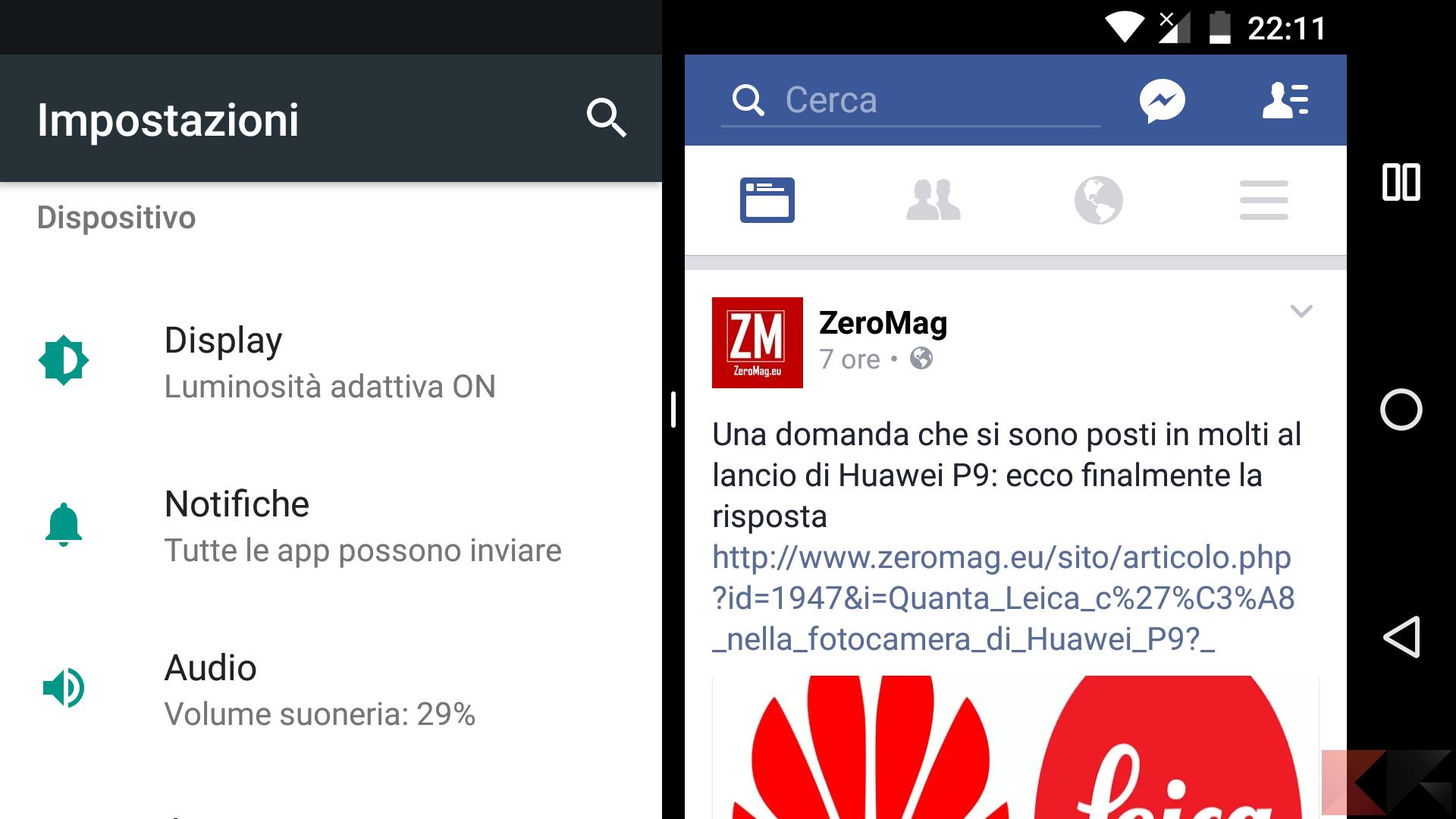 Multi Window in Android: utilizzare app non compatibili