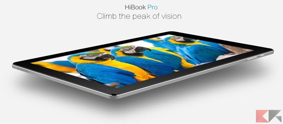 CHUWI HiBook Pro, rivale del Surface, in offerta a 180€
