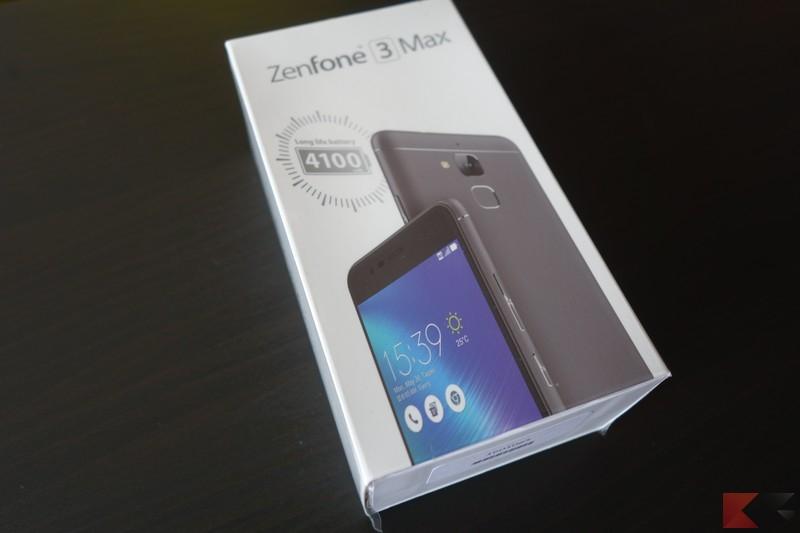 Recensione ASUS Zenfone 3 Max: batteria mastodontica!