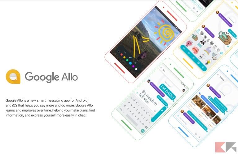 Ecco Google Allo, il nuovo rivale di WhatsApp (download APK)