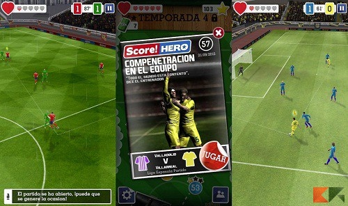score-hero12 - Giochi calcio Android