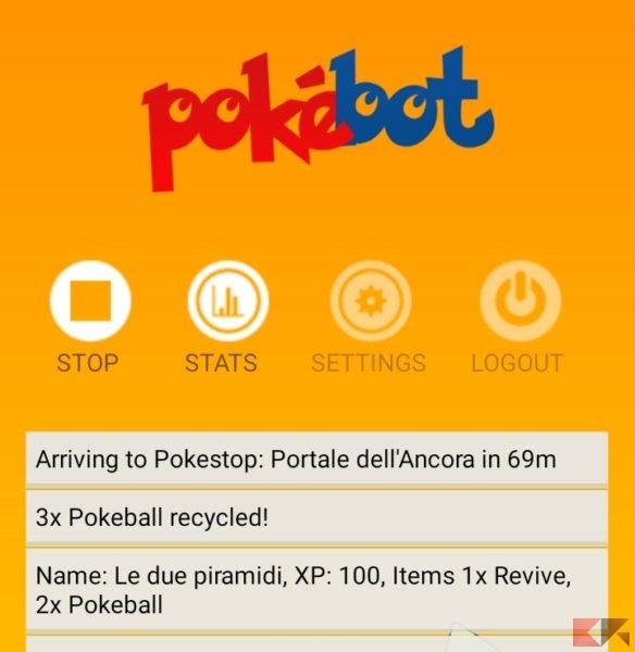 Screen Pokebot