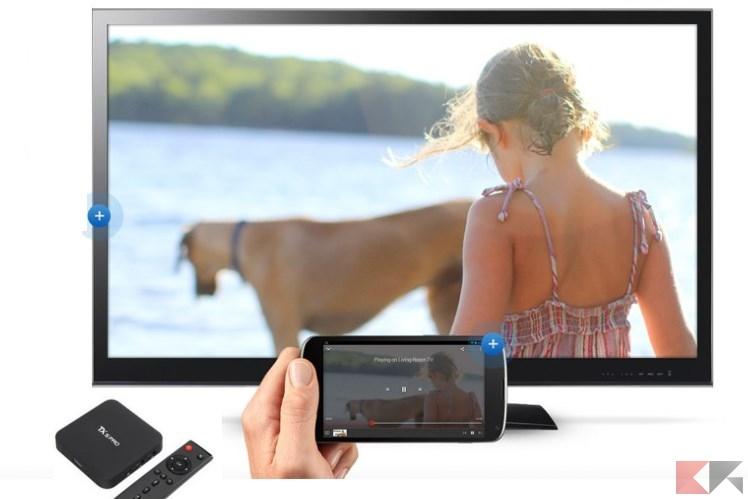 Telecomando TV Box: utilizziamo il nostro smartphone Android