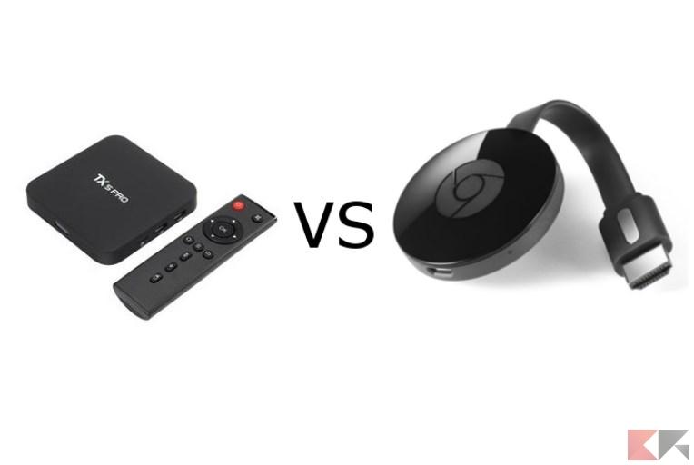TV Box vs Chromecast: chi è il migliore in salotto?